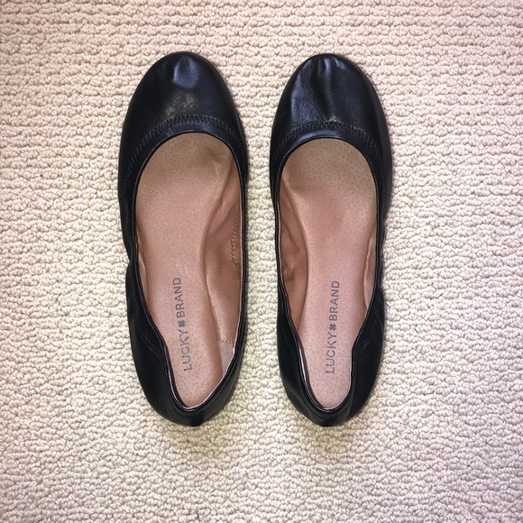 Lucky Brand Shoes - Lucky brand emmie leather flat